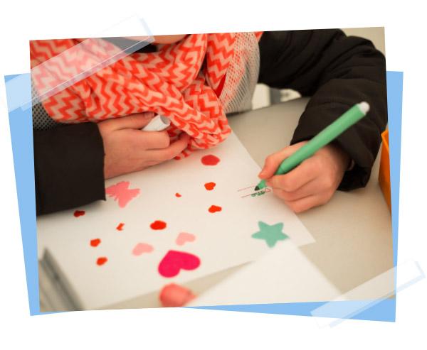 Organisations d'ateliers pour les enfants