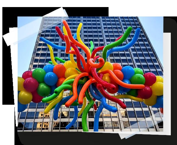 animation ballons