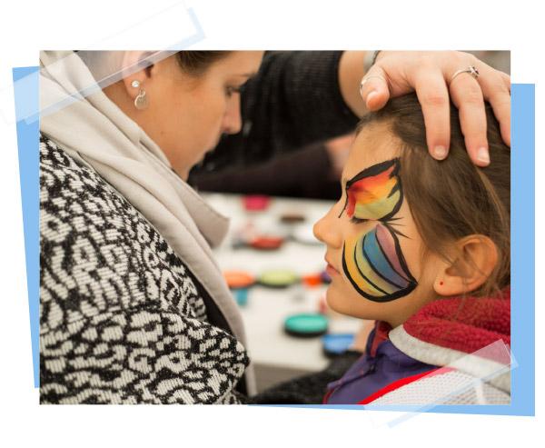 Atelier maquillage pour enfants
